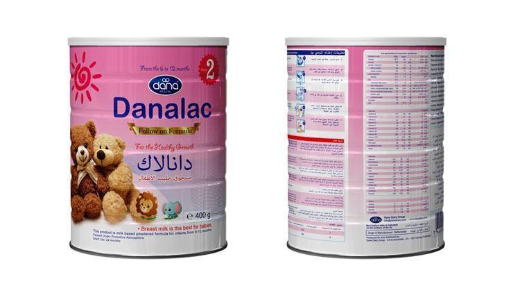 DANALAC 婴幼儿配方奶粉 - 第一段:婴幼儿配方奶粉 ;第二段:婴幼儿后续配方食品;第三段:成长配方奶粉