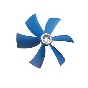 Q Fixed pitch sickle profile axial impellers