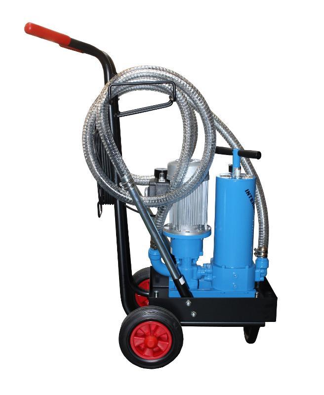 Chariot de filtration mobile - Service dépollution sur site