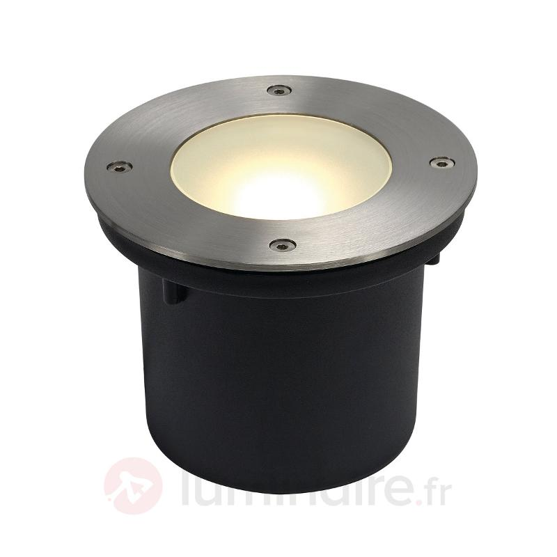 Spot encastrable au sol rond LED WETSY DISK - Luminaires LED encastrés au sol