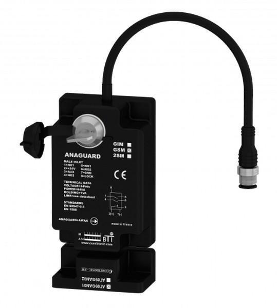 Interverrouillage de sécurité avec gâche codée sans contact « carter/porte légèr - ANAGUARD