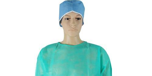 Vestido verde quirúrgico -