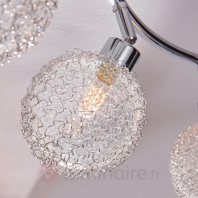 Plafonnier LED à trois lampes Ticino - Plafonniers LED