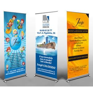 Roll-Up Espositori Totem Roma