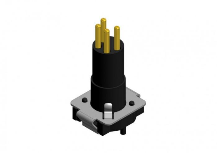 M8x1 Sockets SMT/THR - M8x1 Sockets SMT/THR
