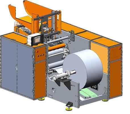 ALF-506  - Automatic Machine for Rewinding of Aluminium Foil