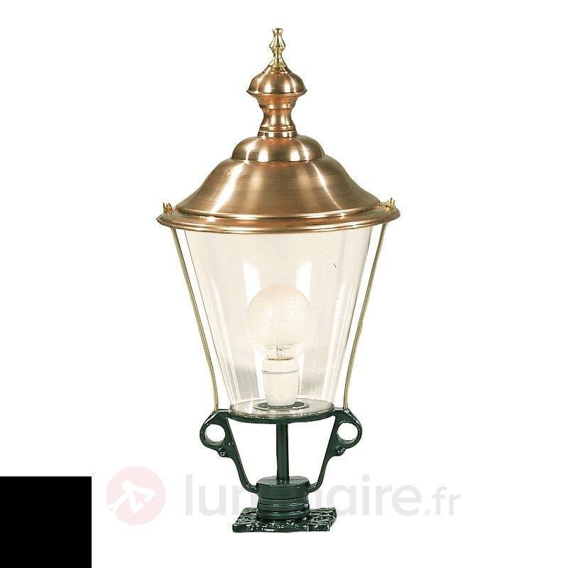 Luminaire pour socle K3b chapeau cuivre - Toutes les bornes lumineuses