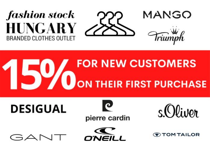 15% discount for new customers on their first purchase! - The discount is valid for purchases of at least 500 products.