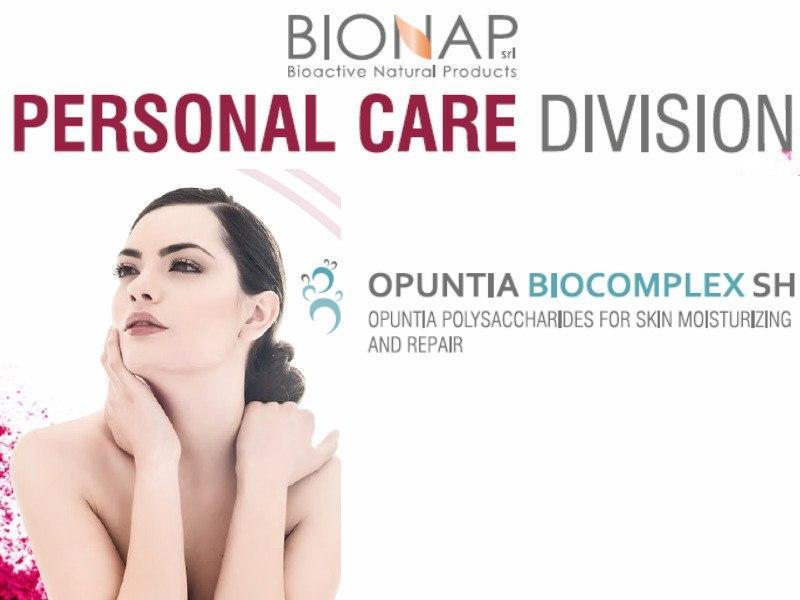 Opuntia biocomplex SH - Natural cosmetic ingredients - Optuntia polysaccharides for skin moisturizing and repair