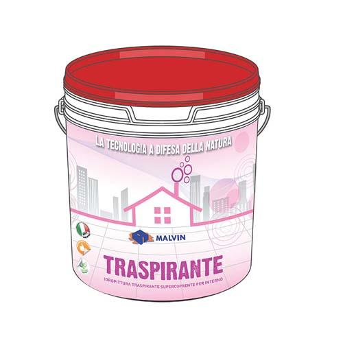 Water based paint for internal use, Traspirante - Compliant with the directive 2004/42/CE