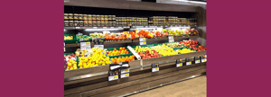 Mobilier présentoir fruits et légumes