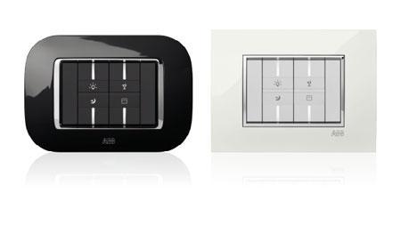 Serie civile Mylos ABB - Arredo elettrico con progettazione compresa nel prezzo.