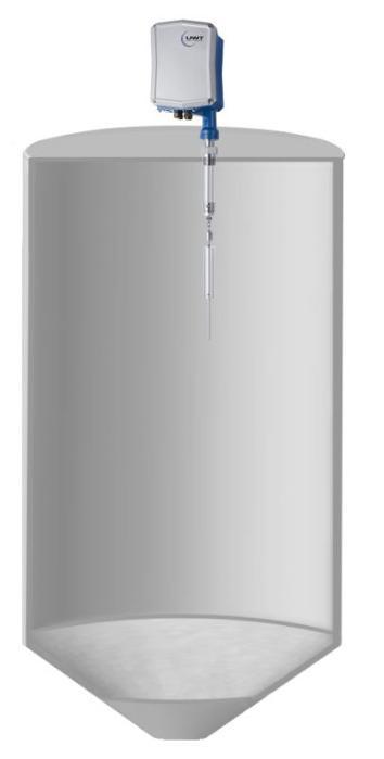Medición electromecánico NivoBob® NB 3000 - Los sensores de lote NivoBob® son utilizados para la medición continua en silos.