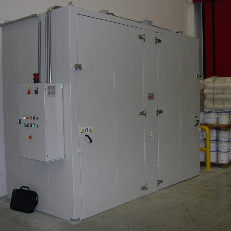 Industrial Drum/IBC Heating Ovens