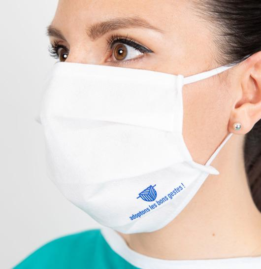 Masque barrière UNS1 – FaceFit - Masque barrière UNS1 - Lavable & Réutilisable 10 fois