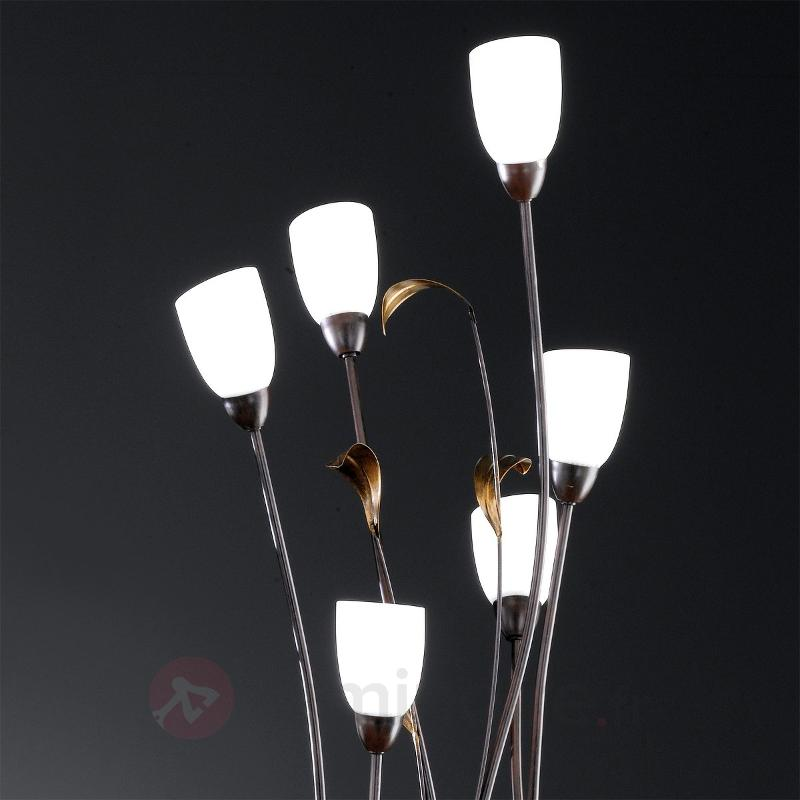 Lampadaire à 6 lampes SUPRA - Lampadaires rustiques