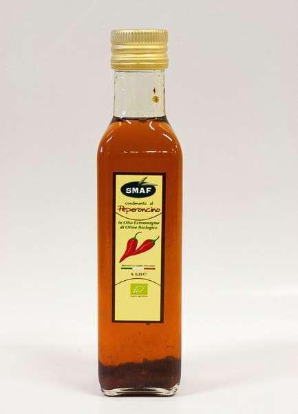 Chili Pepper Olive Oil-Based Condiment