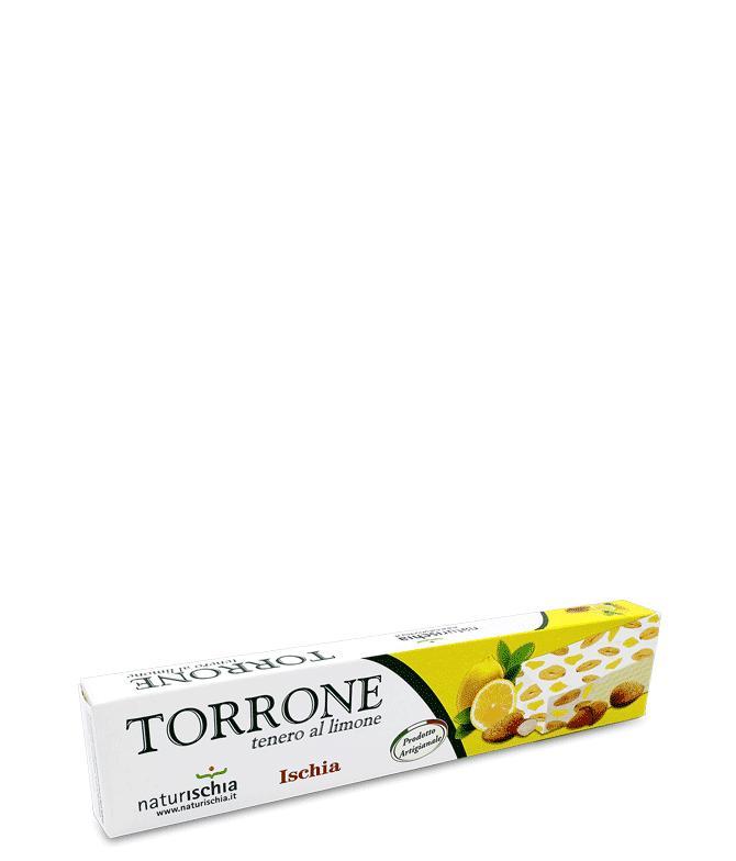 Torrone tenero al limone - Torroni morbidi