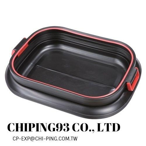 collapsible car organizer storage box  - indoor or outdoor pull up by hand the plastic storage bin