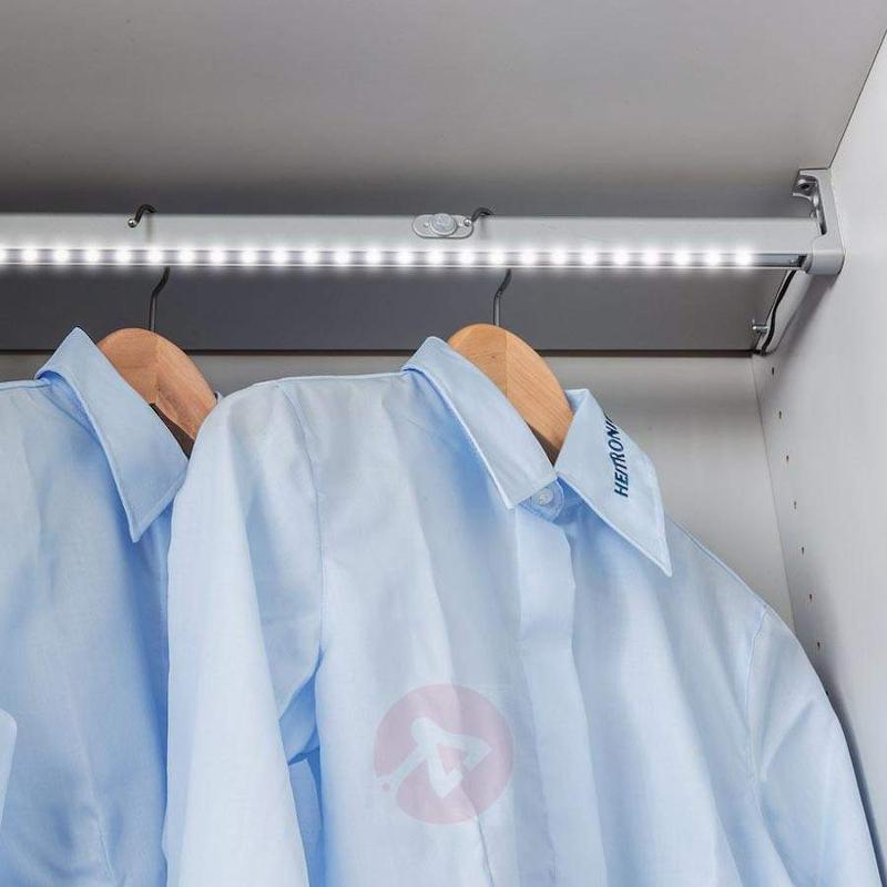 100 cm long Barcelona LED clothes rail light - Additional Furniture Lights