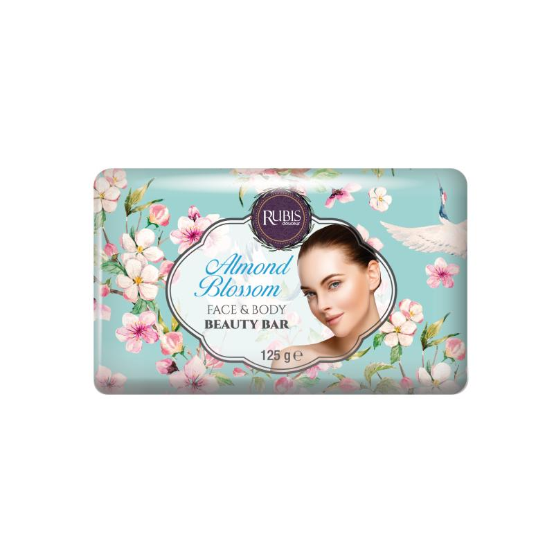 Rubis – 125 Gr Flower Serie Paper Wrapped Soap - Paper Wrapped Soap