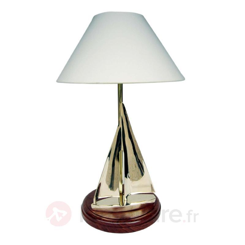 Lampe à poser SAILING extraordinaire hauteur 60 cm - Lampes à poser en bois