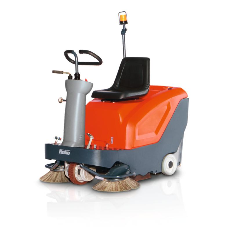 Sweepmaster B800 R - Ride-on vacuum sweeper for small to medium-sized areas