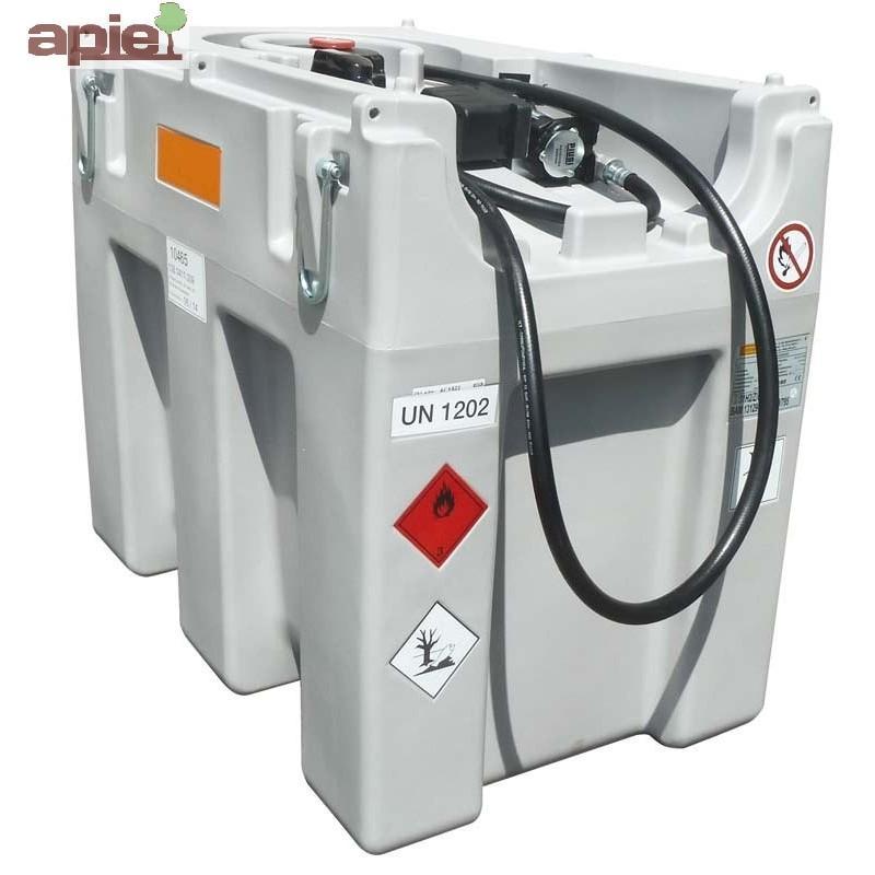 Station 600 L ADR pour ravitaillement Gasoil - pompe - Référence : EASY/MOBIL/600L