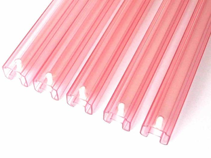 Extruded Tansparent PVC Pipes & Profiles - Custom Tansparent PVC Pipes & Profiles, China great plastic extrusion factory
