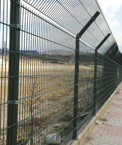 Double 2D Panel Fence, Double Wire 2D Decorative Panel Fence ...