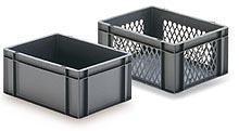 Stapelbehälter aus Kunststoff - null