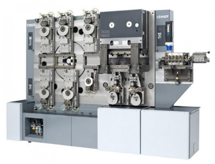 Multi-slide machine - GRM 80P - Stamping and forming machine GRM 80P for efficient sub-assembly production