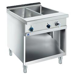 Cooking line 900 First Choice - BAIN-MARIE ELECTRIC CAP.1XGN2/1 H=200 OPEN CABINET