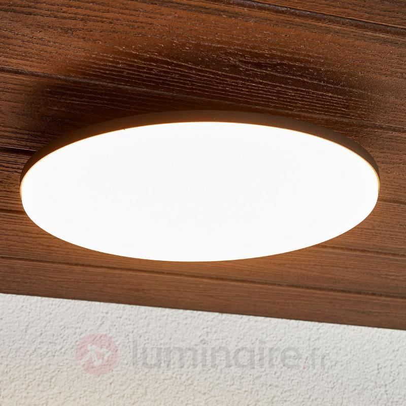 Plafonnier LED rond Benna pour l'extérieur, IP65 - null