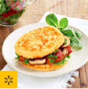 Burger Omelette -