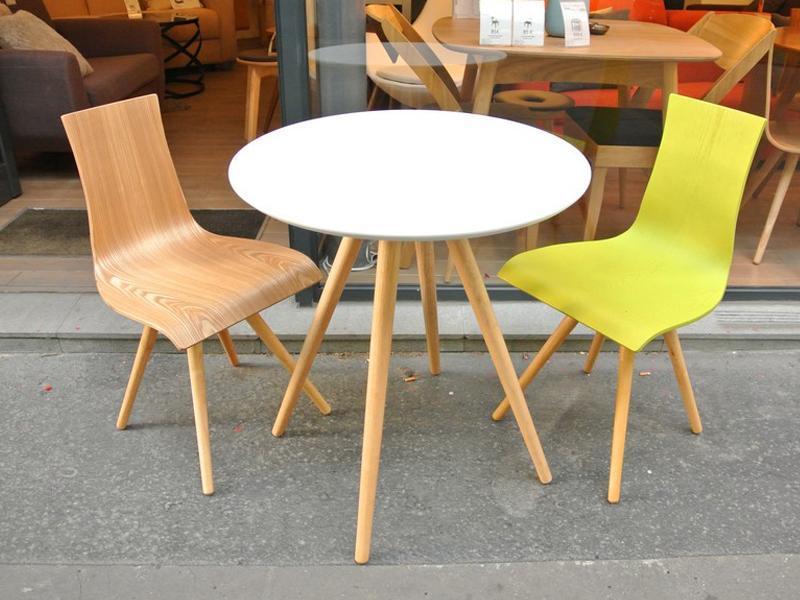 table bistrot bois ronde. Black Bedroom Furniture Sets. Home Design Ideas