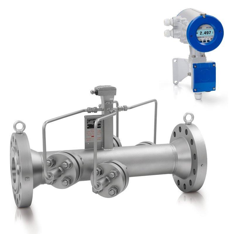 UFM 530 HT - Caudalímetro para líquido / por ultrasonidos / de alta temperatura / en línea