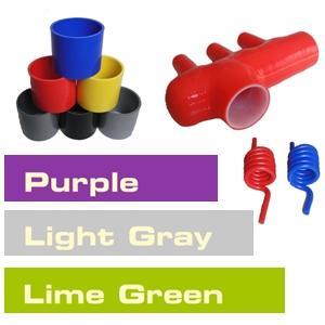 silicone hose colours