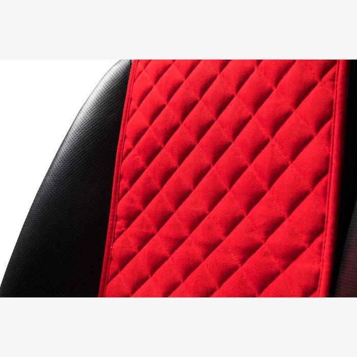 Trokot car seat covers Red - High-quality car seat covers for a stylish and individual car interior