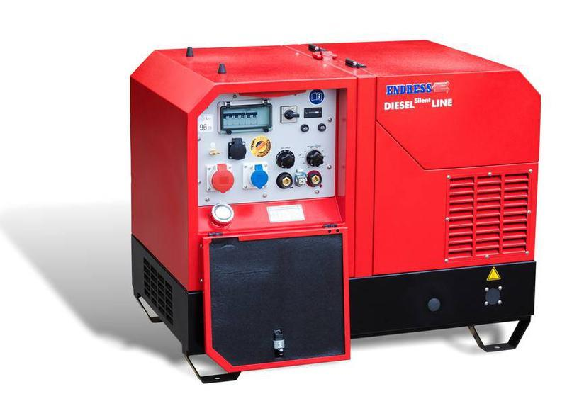 POWER GENERATOR for Professional users - ESE 1008 SDHS-DC ES Diesel