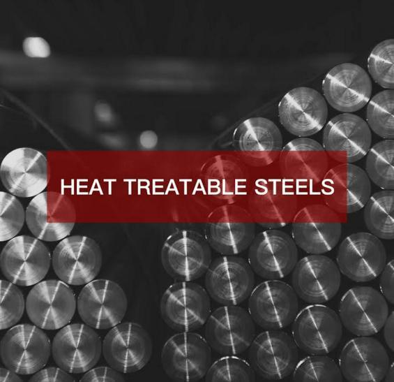 HEAT TREATABLE STEELS - Please check the description for available steel grades.