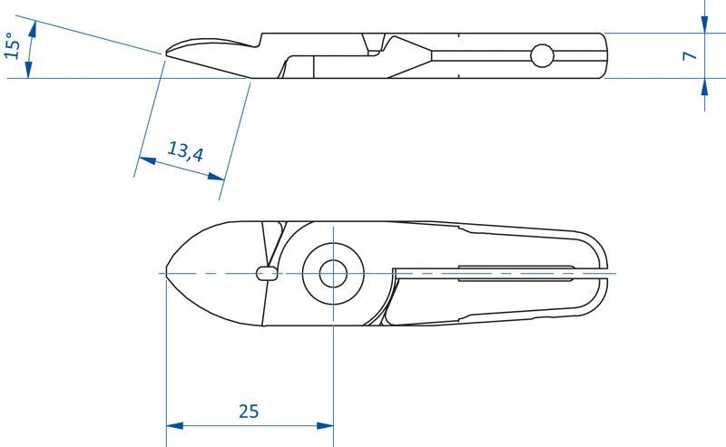 Schneideinsätze für Kunststoff - Serie SF-05 - null