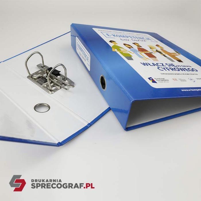 Bedrifts- og reklamebindemidler - to-ring permer, fire-ring permer, grafisk design