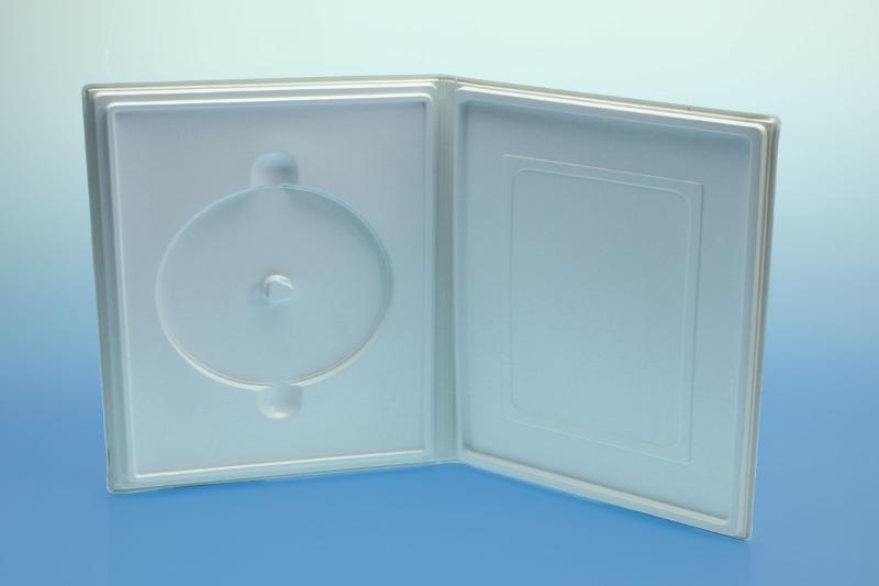Weichbox für 1-4 Disc's und A5 Inhalt - Multimediaboxen