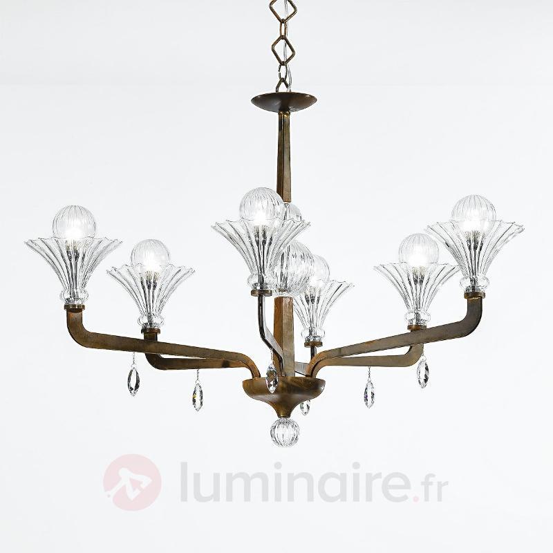 Fascinant lustre SUPREME à 6 lampes - Lustres designs, de style