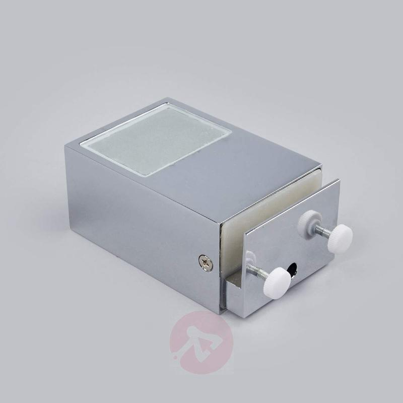 Clip-on mirror light Cosmin with LEDs, IP44 - Wall Lights