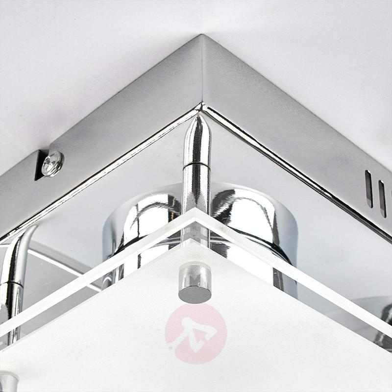 2-light LED wall lamp Sheldon - Ceiling Lights