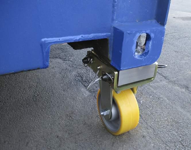 Rulli contenitori - 4336 4t - Rulli portacontainer per lo spostamento di contenitori fino a 4 t