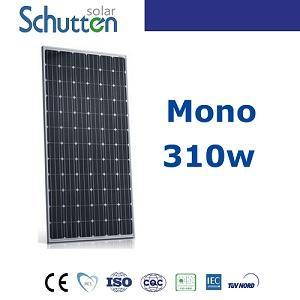 Sistema de energía solar 310w mono panel solar