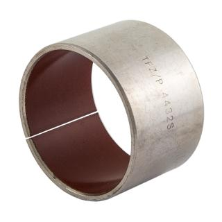 Wrapped composite dry sliding bearing steel / special PTFE - TEF-MET®/P , lead-free